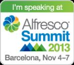 2013-11-06 Alfresco - Speaking Barcelona