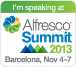 2013-11-06 Alfresco - Speaking Barcelona