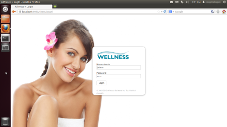 Alfresco Share Login wellness