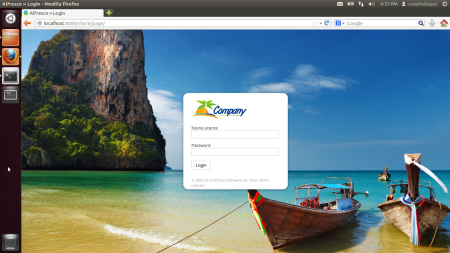 Alfresco Share Login travel